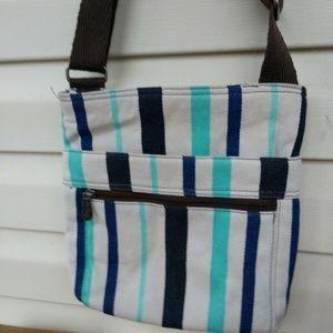 Thirty One Canvas Crossbody Handbag